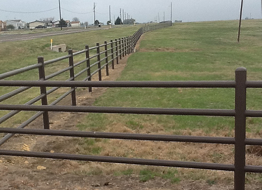 Pipe Fence, Farm and Ranch fencing services @ Moseley Fence