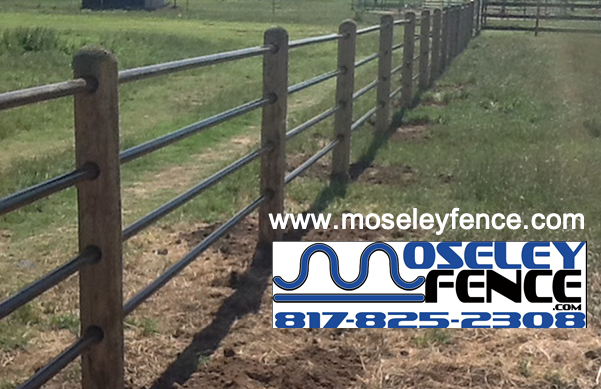 Ranch Fence Provded by Moseley Fence LLC