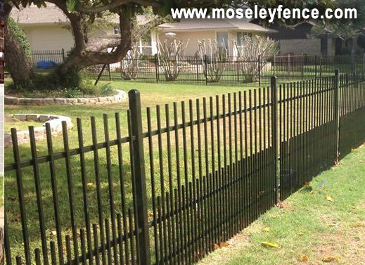 Wrought Ron with Puppy Rails, www,moseleyfence.com